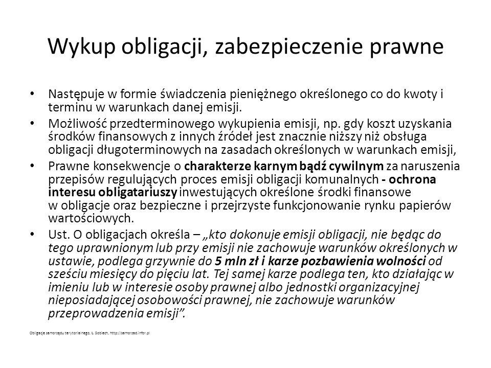 Cel emisji obligacji – przeznaczenie dodatkowych środków przez gminy Najczęściej na lotniska – ponad 1 mld zł od 2010 roku; najwięcej W-wa 240 mln zł - m.in.