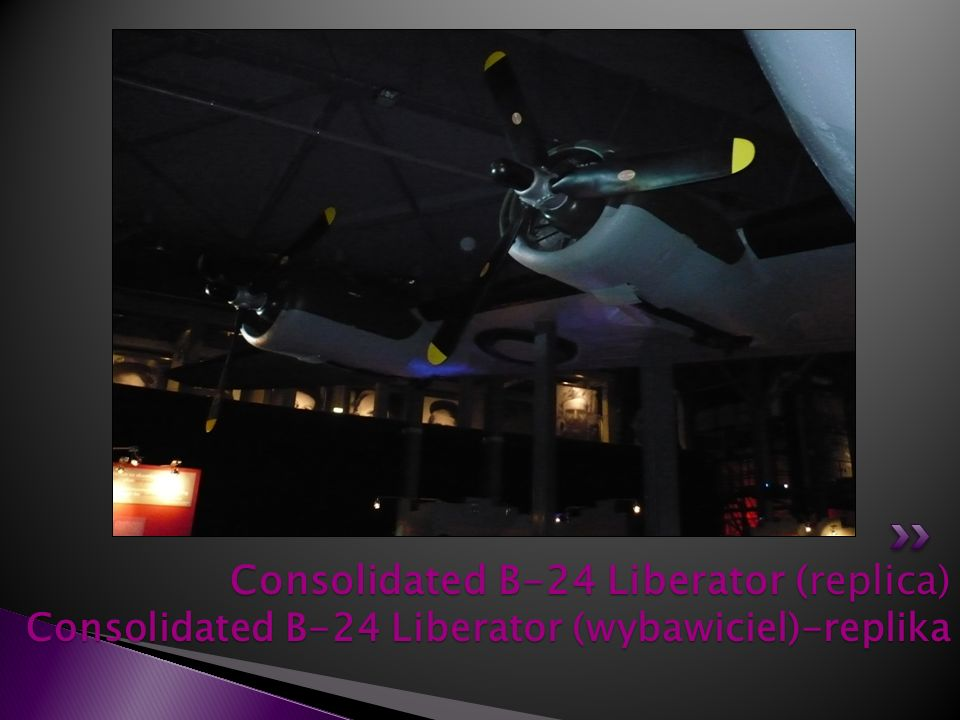 Consolidated B-24 Liberator (replica) Consolidated B-24 Liberator (wybawiciel)-replika