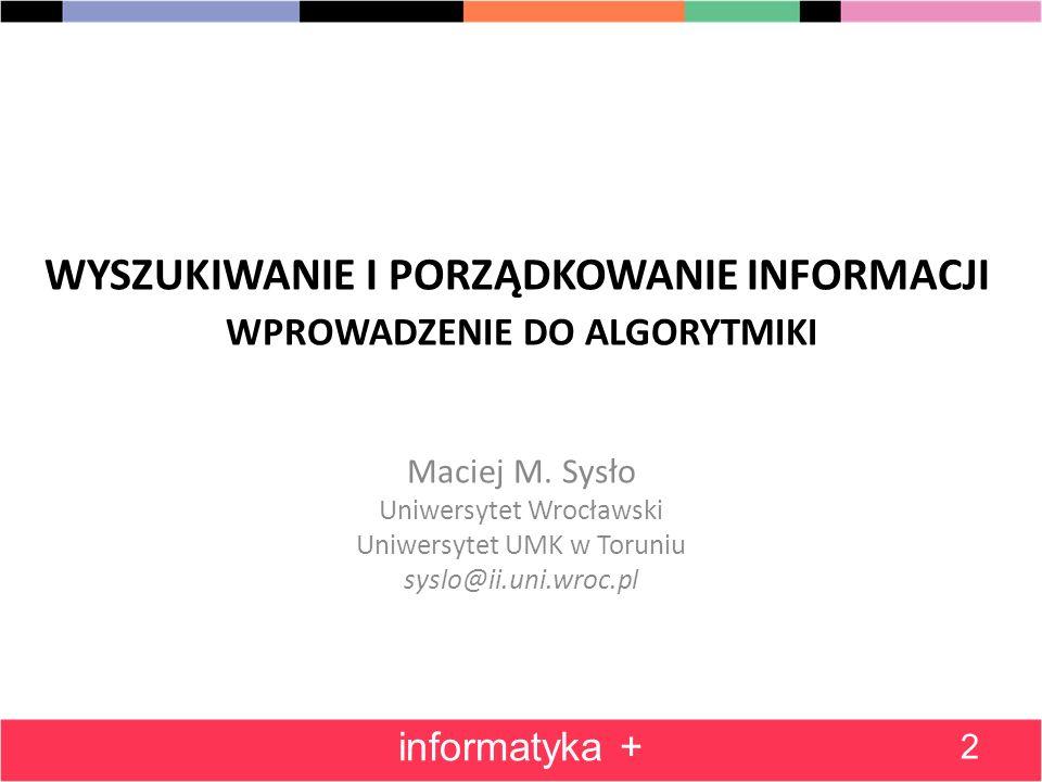 Pełny schemat blokowy algorytmu Min informatyka + 13