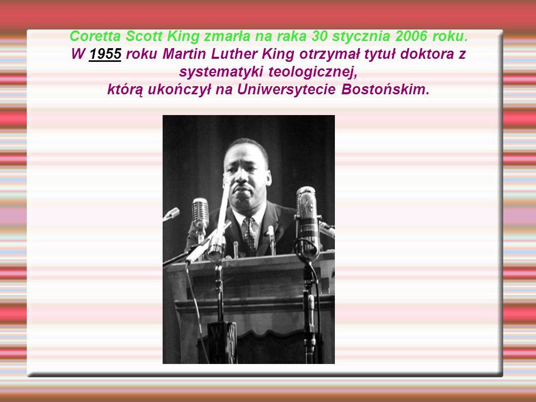 DZIAŁALNOŚC NA RZECZ SWOBÓD OBYWATELSKICH W 1954 King został pastorem w kościele baptystów.