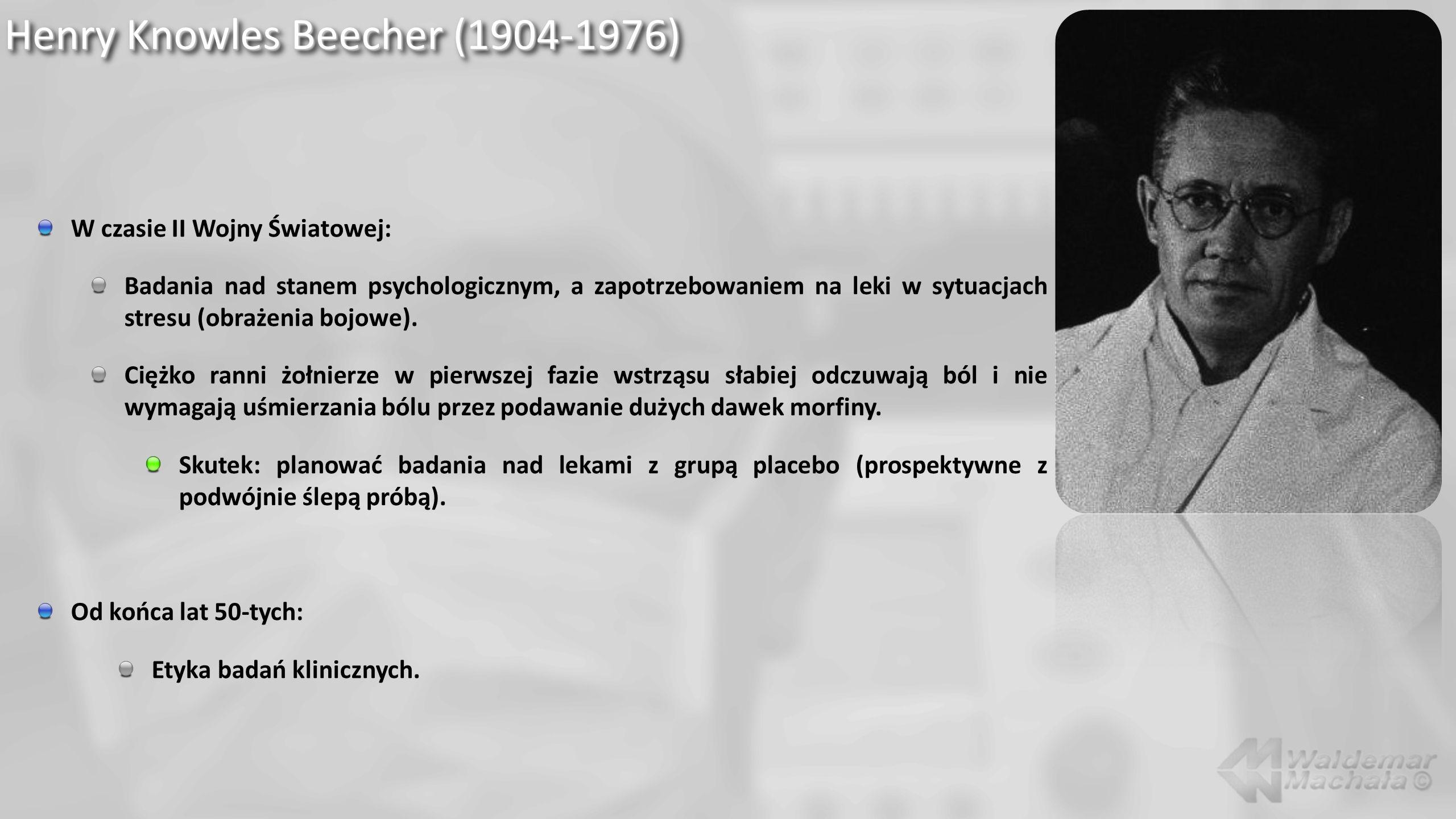 Arthur E.Guedel (1883-1956) Zainteresowania: Anestezja wziewna.