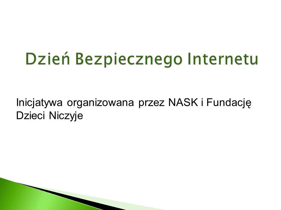 Inicjatywa organizowana przez NASK i Fundację Dzieci Niczyje