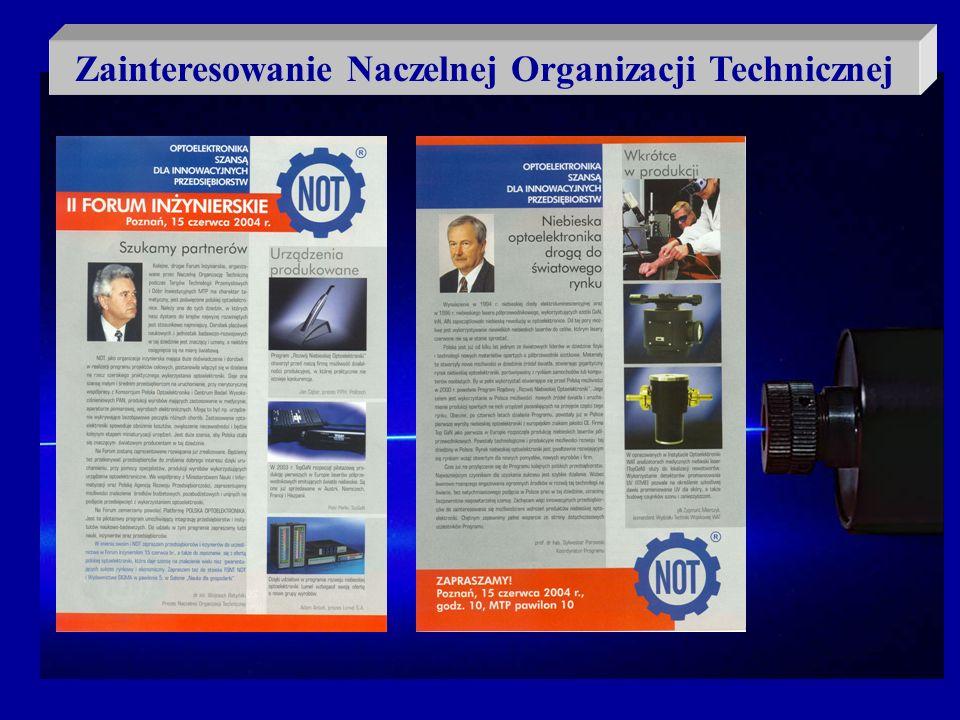Zainteresowanie Naczelnej Organizacji Technicznej