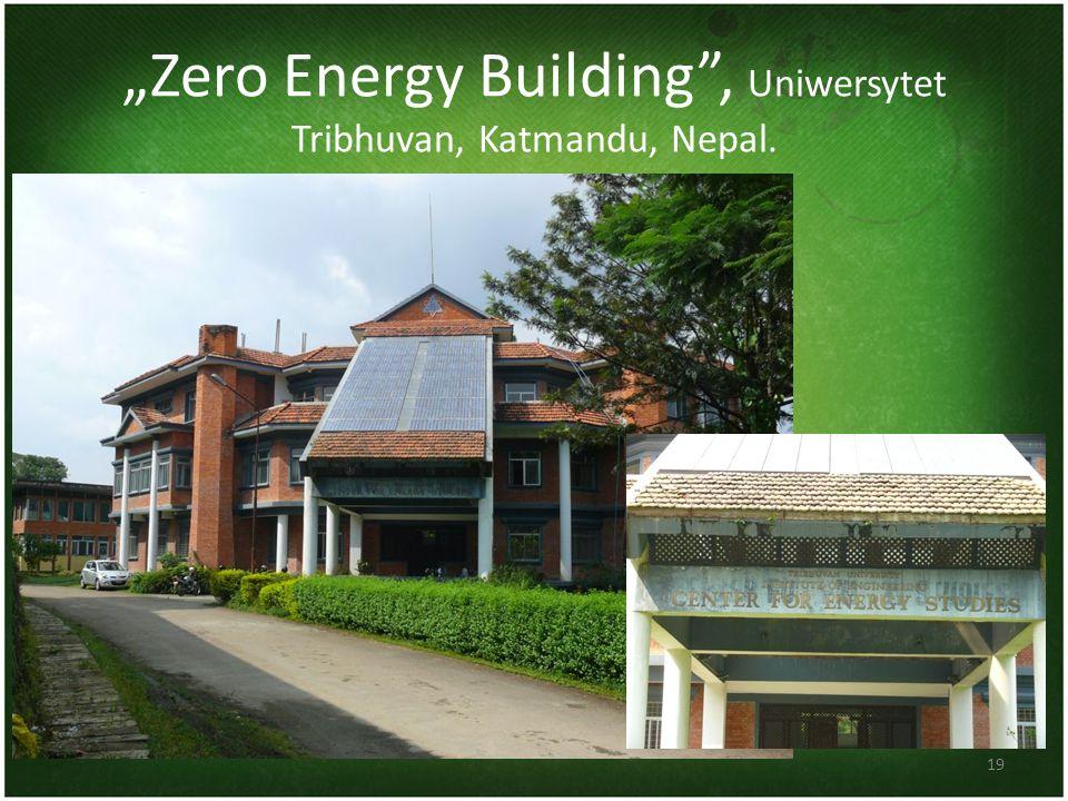 Zero Energy Building, Uniwersytet Tribhuvan, Katmandu, Nepal. 19
