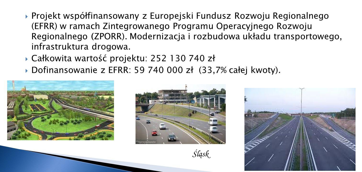 Projekt współfinansowany z Europejski Fundusz Rozwoju Regionalnego (EFRR) w ramach Zintegrowanego Programu Operacyjnego Rozwoju Regionalnego (ZPORR).