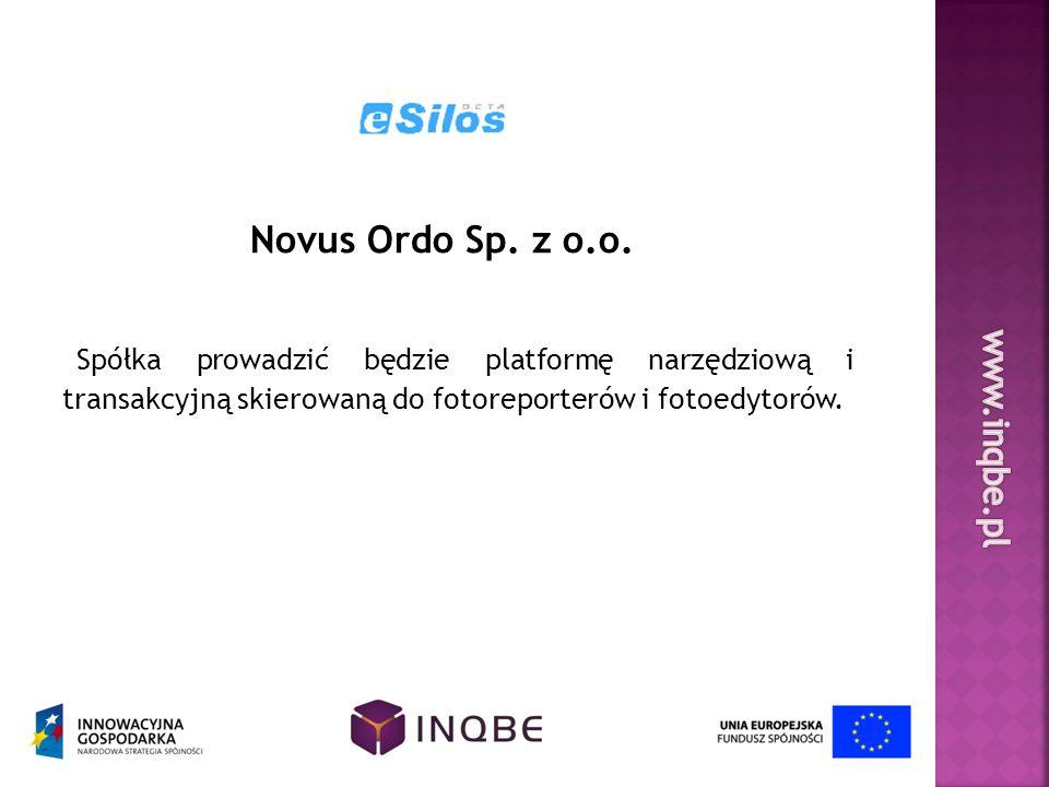 Novus Ordo Sp. z o.o. Spółka prowadzić będzie platformę narzędziową i transakcyjną skierowaną do fotoreporterów i fotoedytorów.