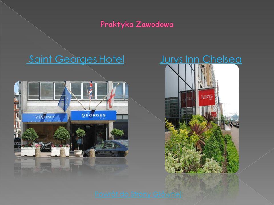Saint Georges HotelJurys Inn Chelsea Powrót do Strony Głównej