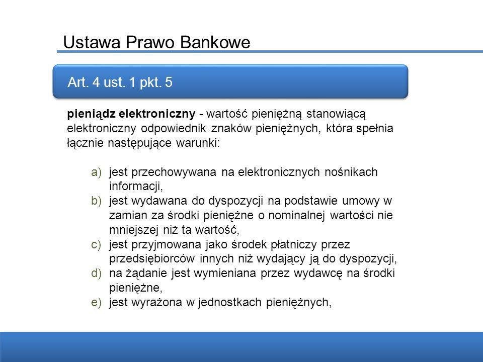 Ustawa Prawo Bankowe Ponad 4 miliardy telefonów komórkowych na świecie w grudniu 2008r 42 miliony aktywnych kart SIM w Polsce w połowie 2008r Art. 4 u