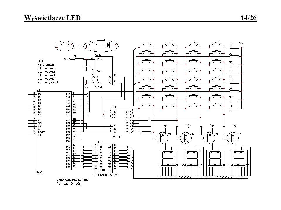 Wyświetlacze LED 14/26