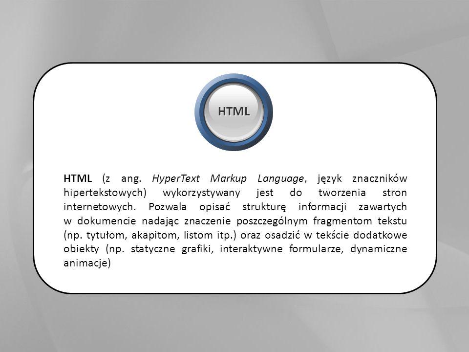 HTML (z ang.