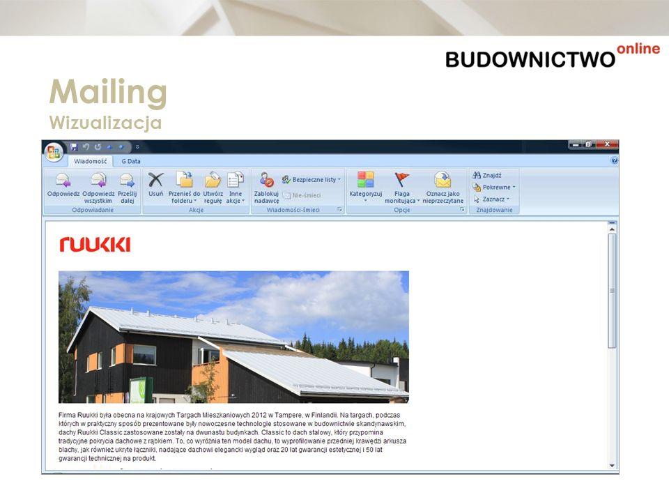 Mailing Wizualizacja