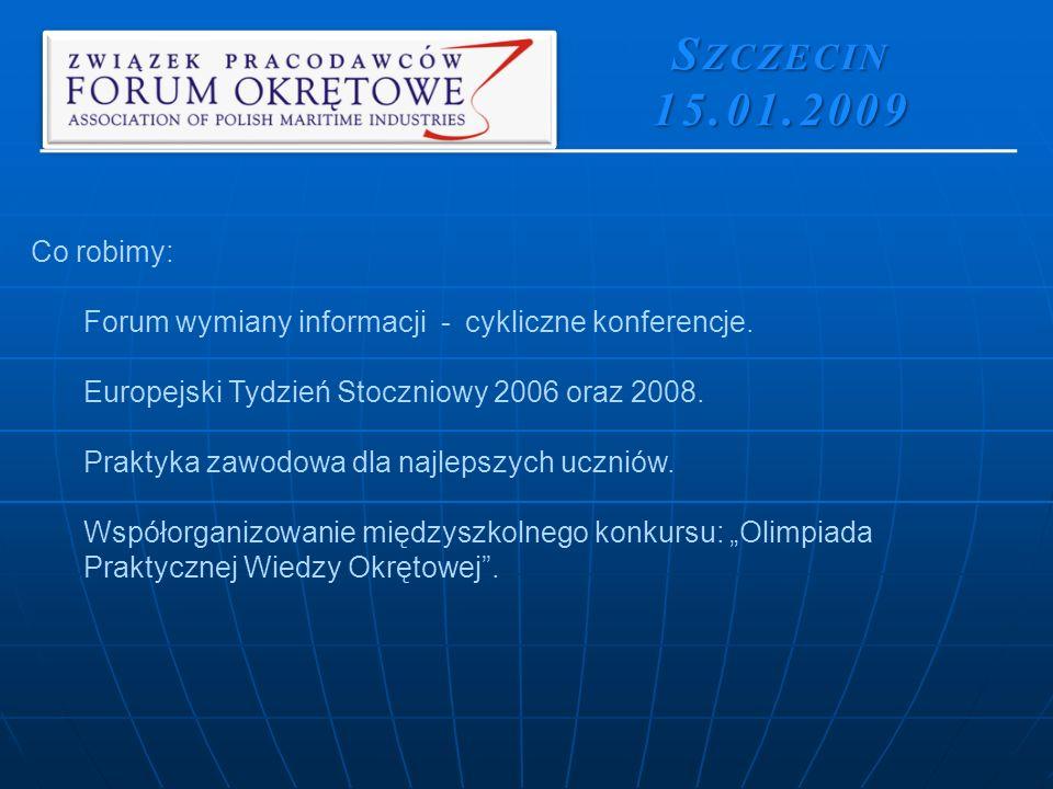 Co robimy: Forum wymiany informacji - cykliczne konferencje.