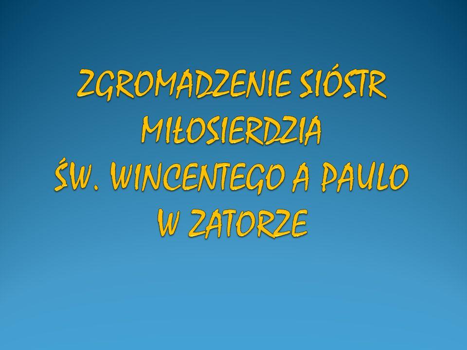 POWINNIŚCIE BYĆ GOTOWE SŁUŻYĆ UBOGIM WSZĘDZIE, GDZIE SIĘ WAS POŚLE… W Zatorze znajduje się Ośrodek CARITAS Archidiecezji Krakowskiej.