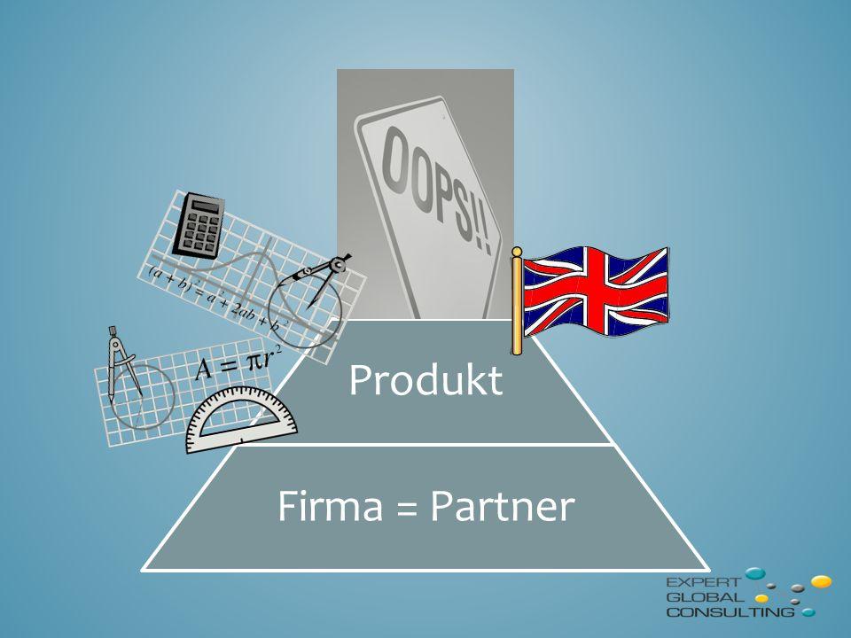 Produkt Firma = Partner