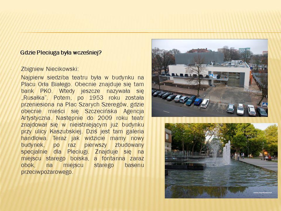 Gdzie Pleciuga była wcześniej.