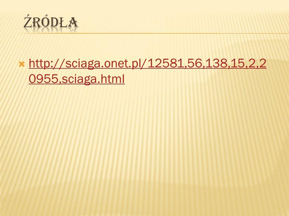 http://sciaga.onet.pl/12581,56,138,15,2,2 0955,sciaga.html http://sciaga.onet.pl/12581,56,138,15,2,2 0955,sciaga.html