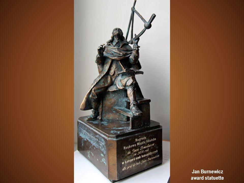 Jan Burnewicz award statuette