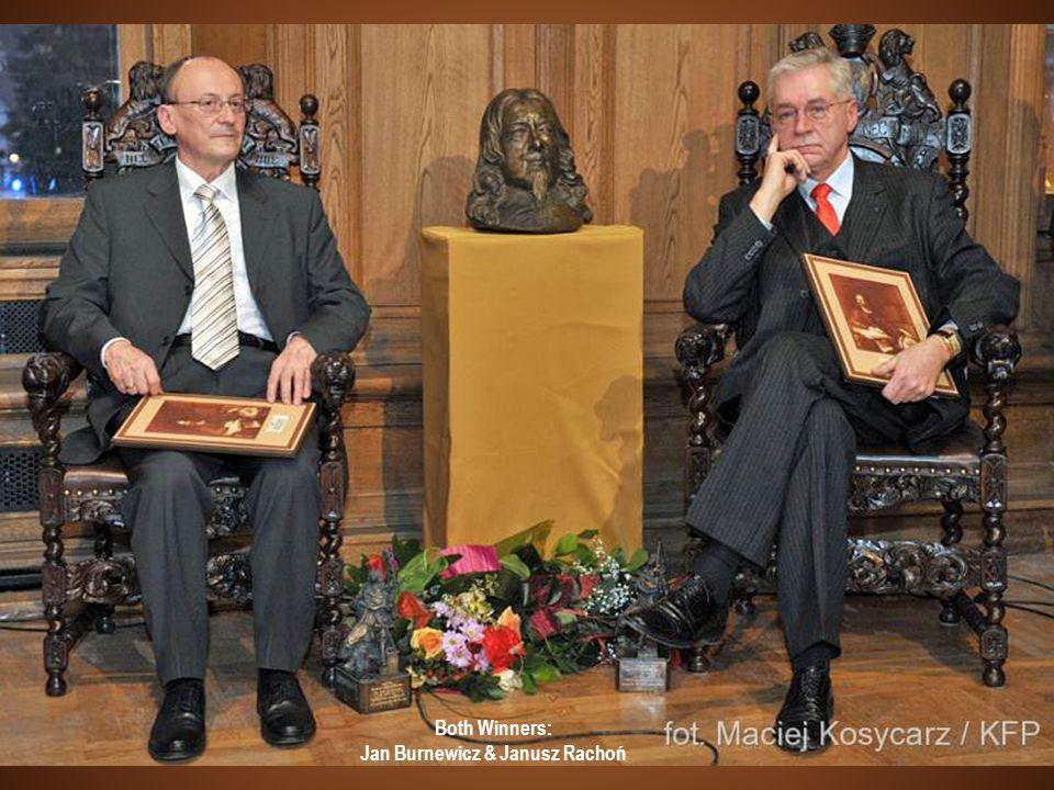 Both Winners: Jan Burnewicz & Janusz Rachoń