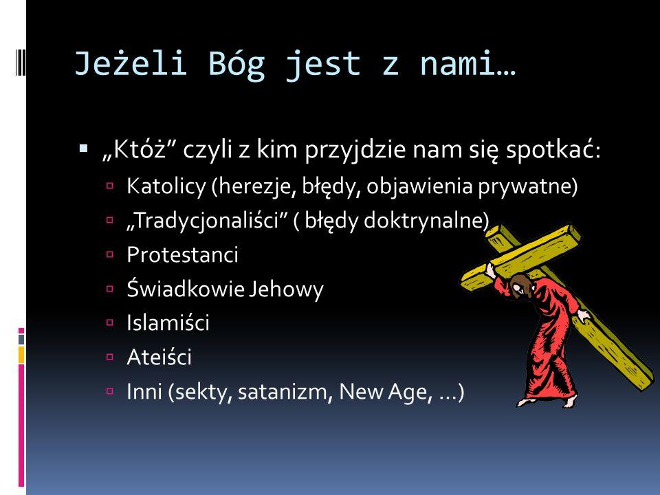 Jak bronić.Ks. Tomasz Jaklewicz dla Gościa Niedzielnego w artykule Jak dziś bronić wiary.