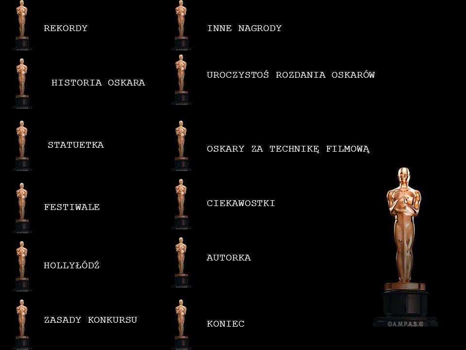 Ponadto przyznawane są nagrody specjalne.Otrzymali je np.