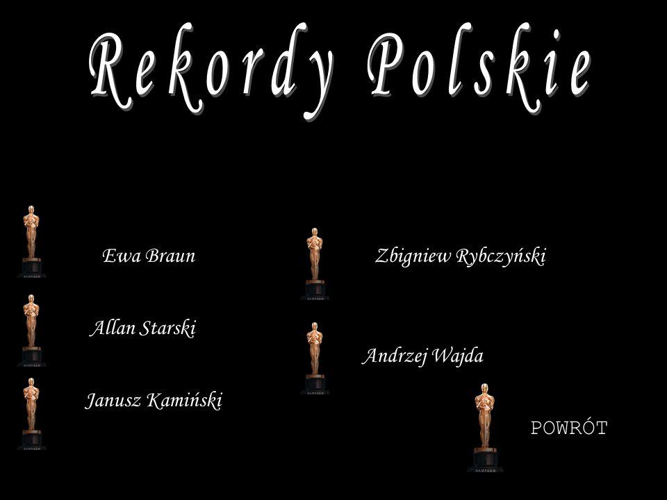 Allan Starski Ewa Braun Janusz Kamiński Zbigniew Rybczyński Andrzej Wajda POWRÓT