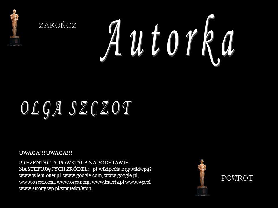 ZAKOŃCZ UWAGA!!! PREZENTACJA POWSTAŁA NA PODSTAWIE NASTĘPUJĄCYCH ŹRÓDEŁ: pl.wikipedia.org/wiki/cpg? www.wiem.onet.pl www.google.com, www.google.pl, ww