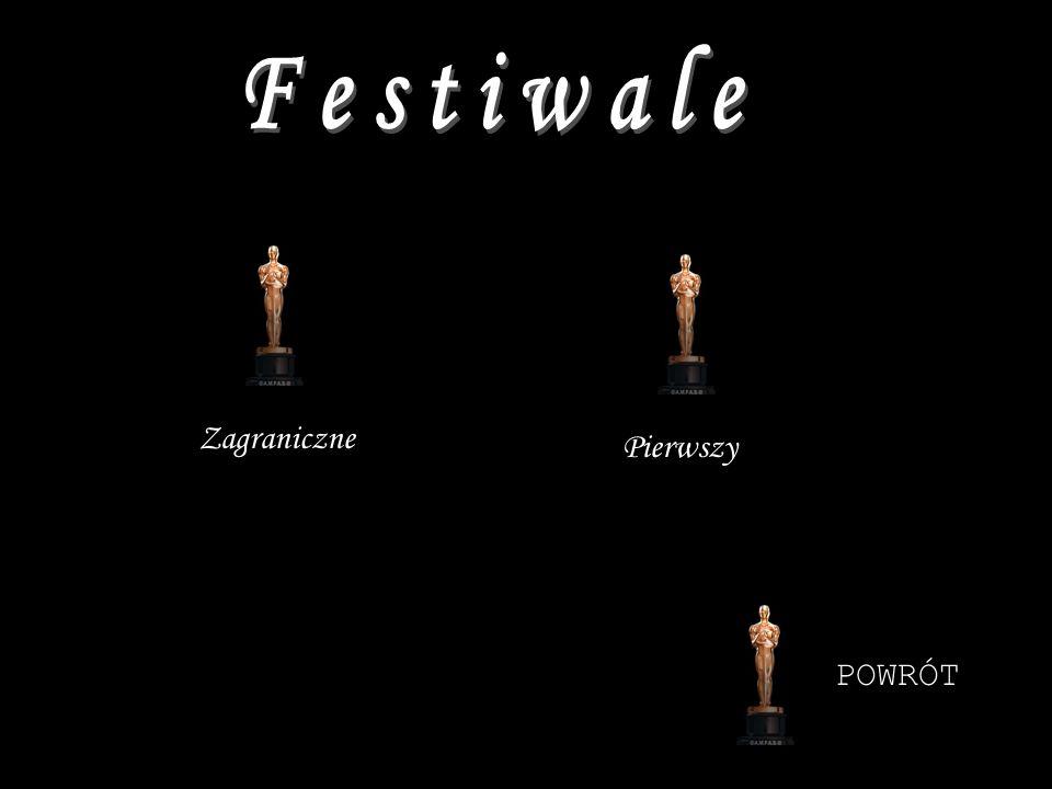 Festiwale filmowe, pierwszy międzynarodowy festiwal filmowy odbył się w Wenecji w 1932 (jury przyznaje nagrody Złotego i Srebrnego Lwa).