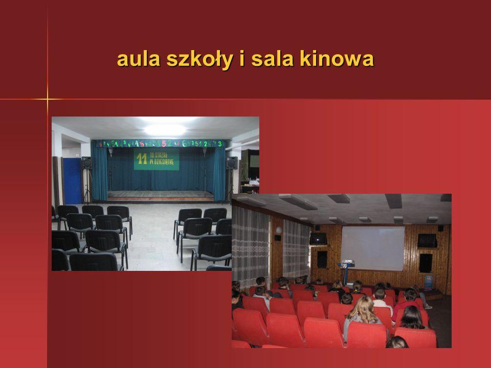 aula szkoły i sala kinowa