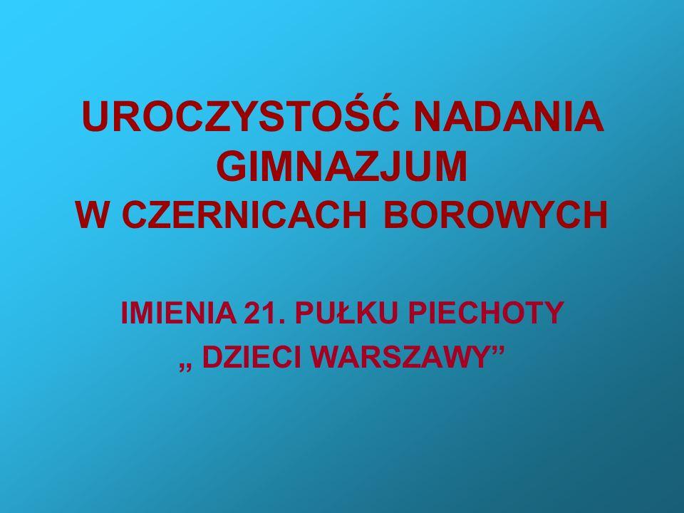 Delegacje złożyły kwiaty na zbiorowej mogile żołnierzy 21. PP Dzieci Warszawy
