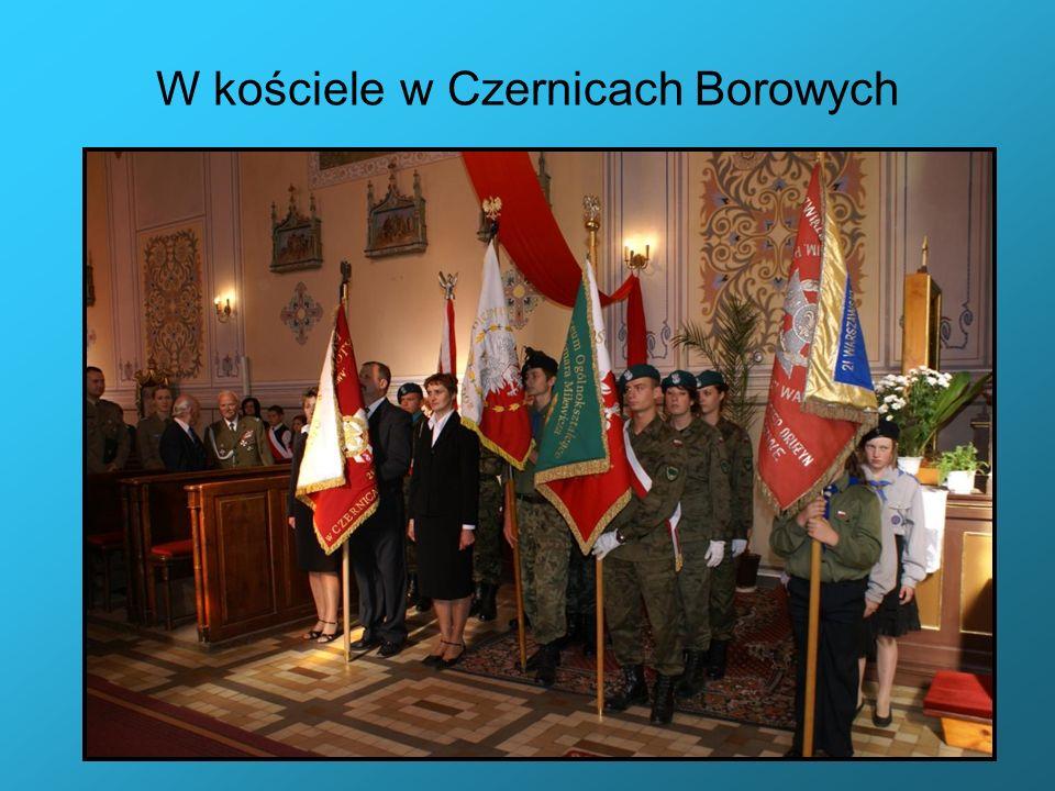 W kościele w Czernicach Borowych
