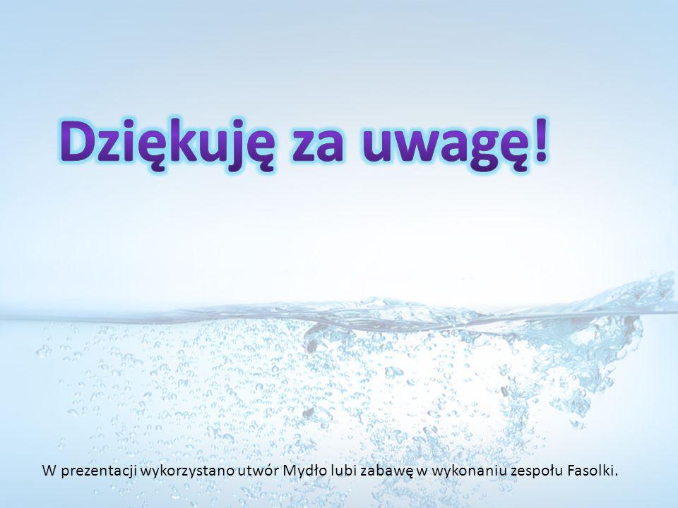 W prezentacji wykorzystano utwór Mydło lubi zabawę w wykonaniu zespołu Fasolki.
