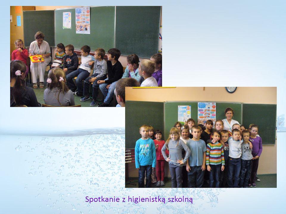 Spotkanie z higienistką szkolną