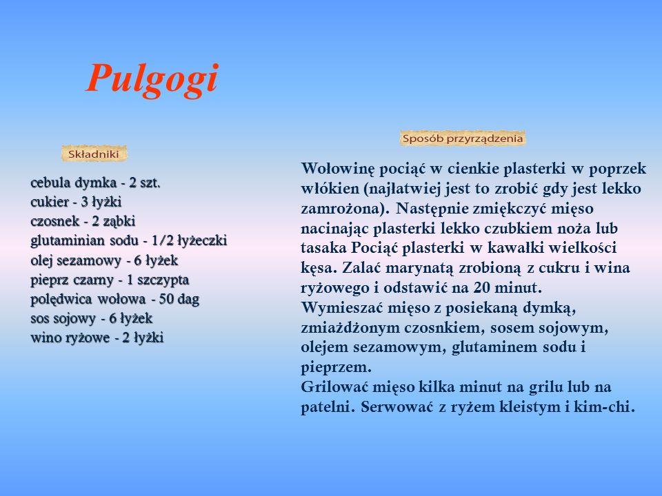 Pulgogi cebula dymka - 2 szt.