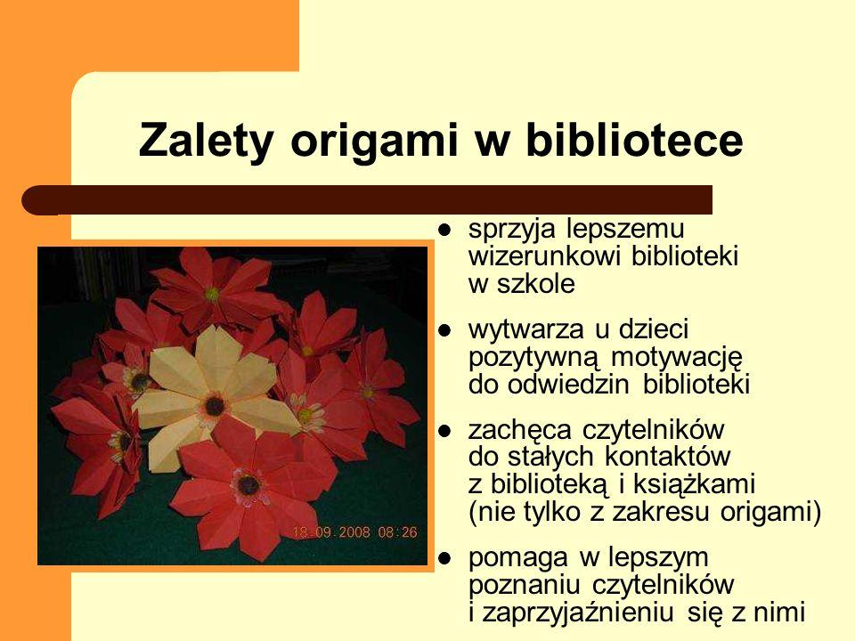 Ciekawe strony www http://www.origami.org.pl (strona Polskiego Centrum Origami) http://www.origami.org.pl http://www.origami.art.pl http://www.oriland.com/index