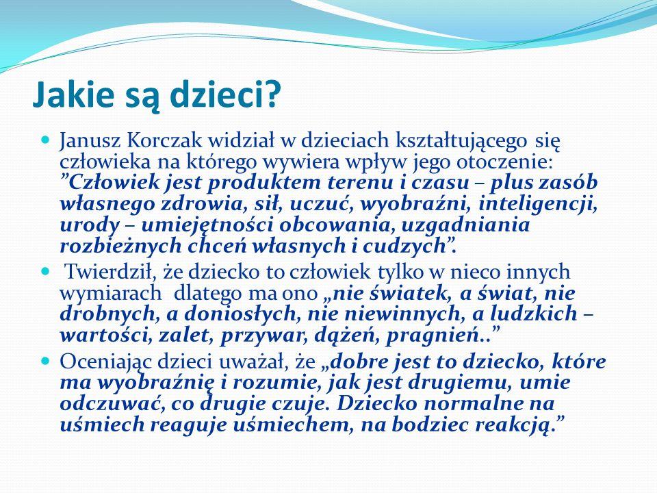 Bibliografia DZIECKO inaczej widziane - twórczość Janusza Korczaka // W : Wanda Krzemińska : Idee i bohaterowie : lektury młodego czytelnika : zarys problemowy.