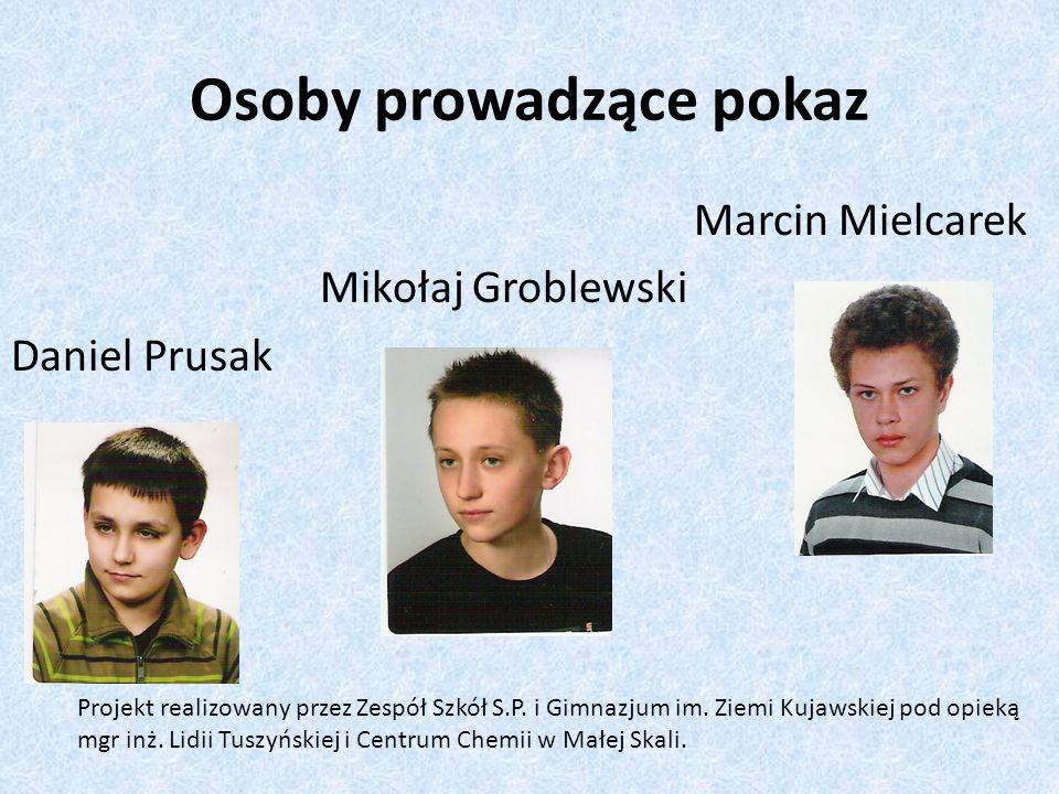 Justyna Juszczyńska Malwina Borkowska Jagoda Lewandowska Ania Kawka Opiekun mgr inż..