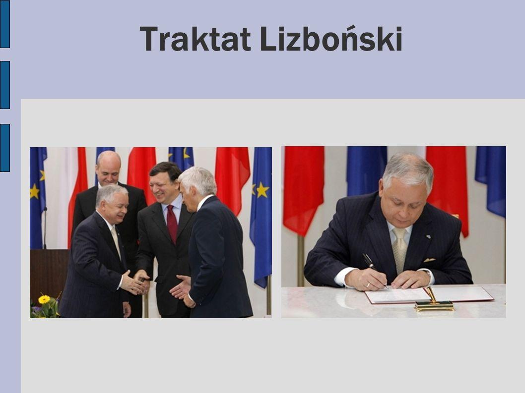 Czym jest Traktat Lizboński.