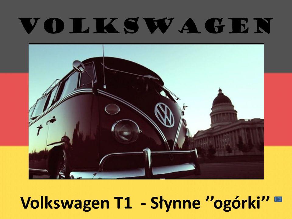 Volkswagen T1 - Słynne ogórki VOLKSWAGEN