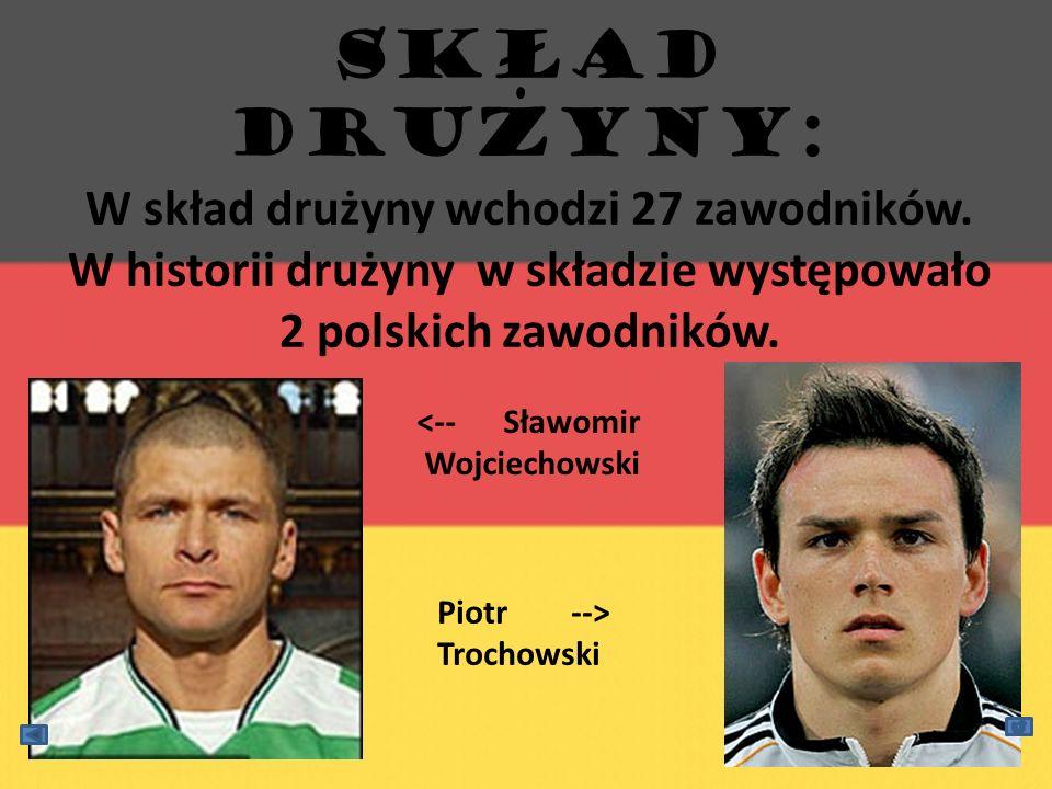 SKŁAD DRUzYNy: W skład drużyny wchodzi 27 zawodników. W historii drużyny w składzie występowało 2 polskich zawodników. <-- Sławomir Wojciechowski Piot