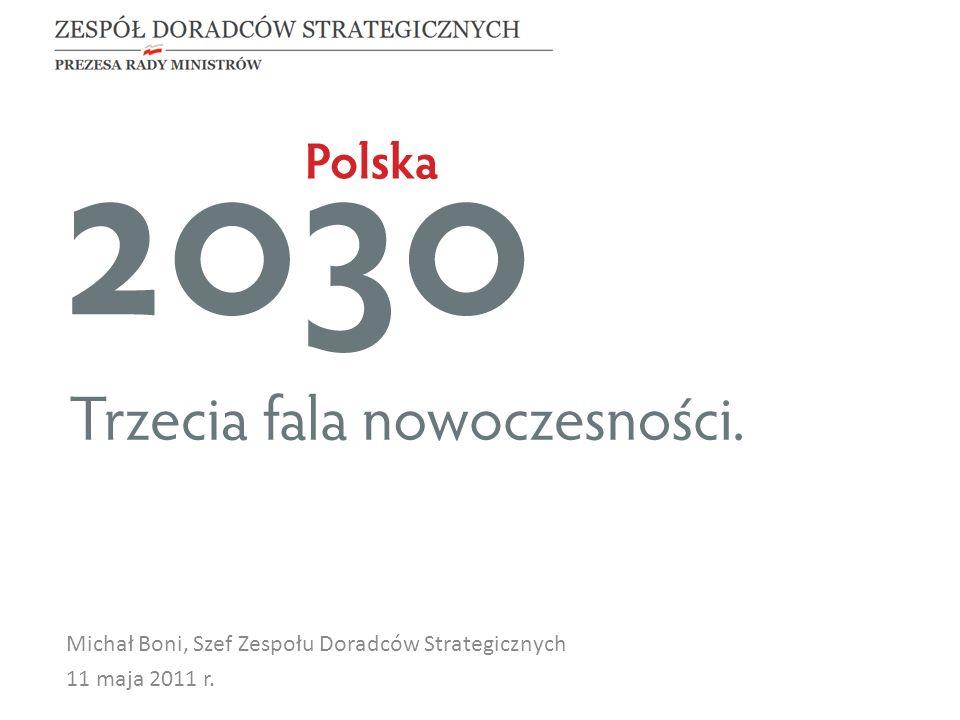 Michał Boni, Szef Zespołu Doradców Strategicznych 11 maja 2011 r.