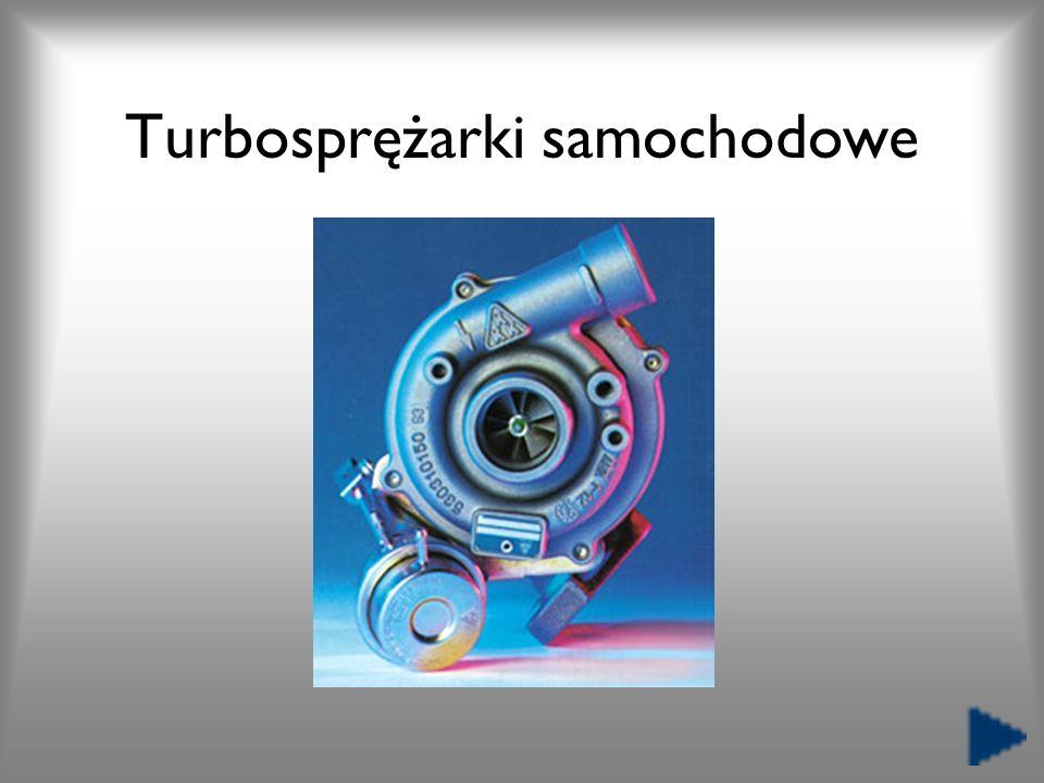 Turbosprężarki samochodowe