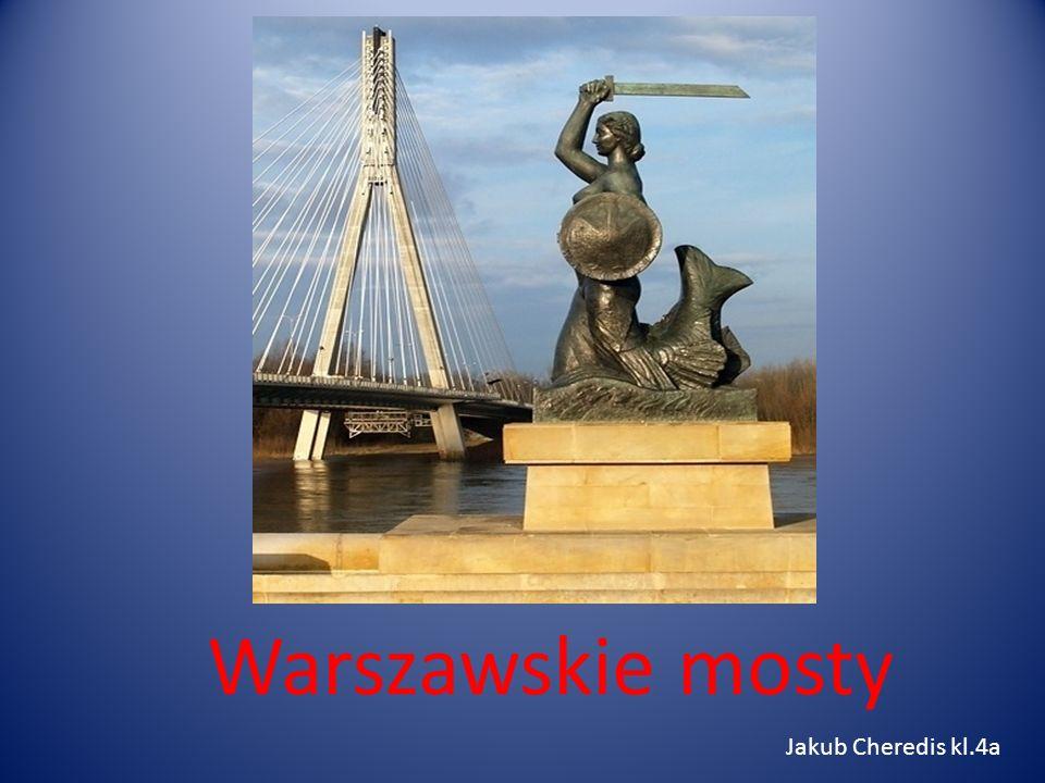 Warszawskie mosty Jakub Cheredis kl.4a