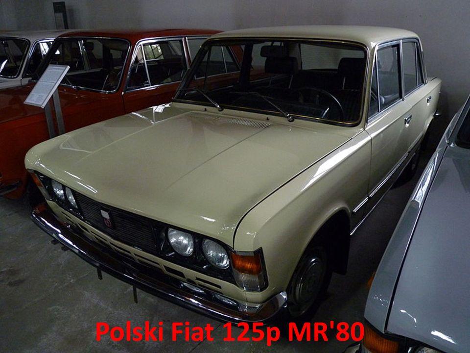 Polski Fiat 125p MR 80