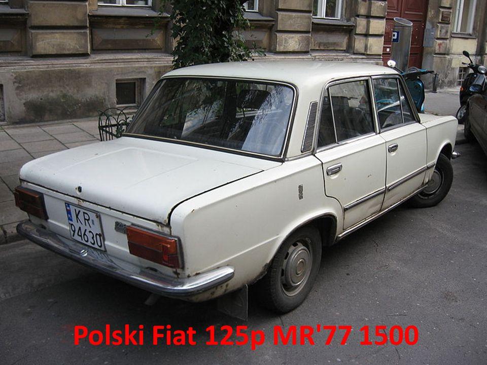 Polski Fiat 125p MR 77 1500