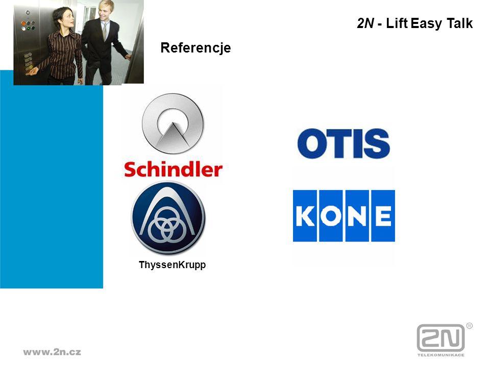 Referencje ThyssenKrupp 2N - Lift Easy Talk