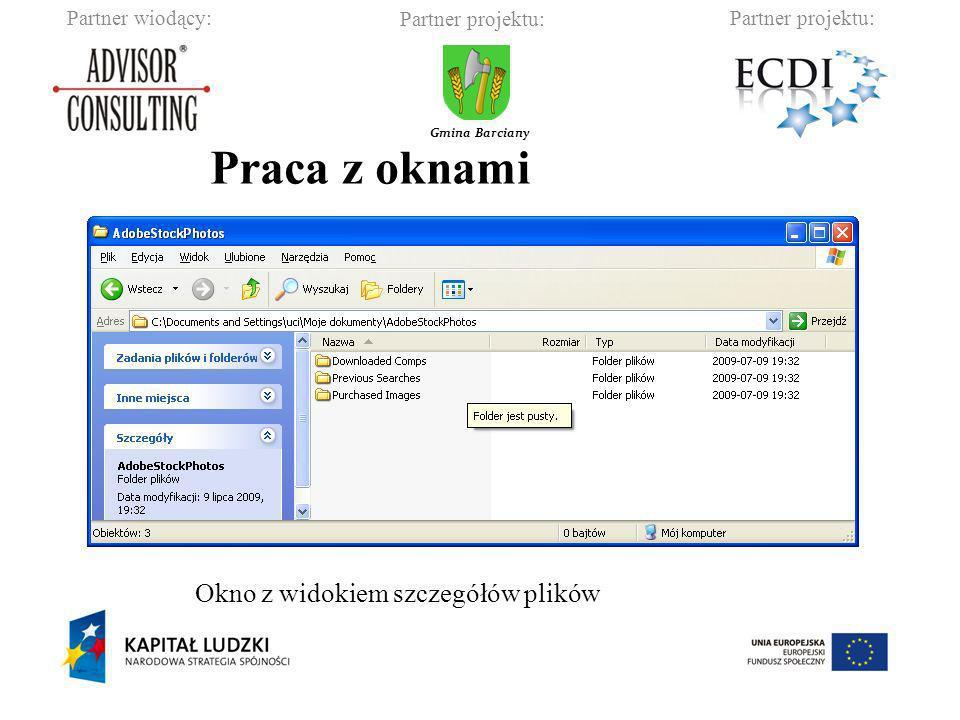 Partner wiodący:Partner projektu: Gmina Barciany Zmiana szerokości okna Zmiana wysokości okna Zmiana położenia okna (wciśnięty lewy przycisk myszy)