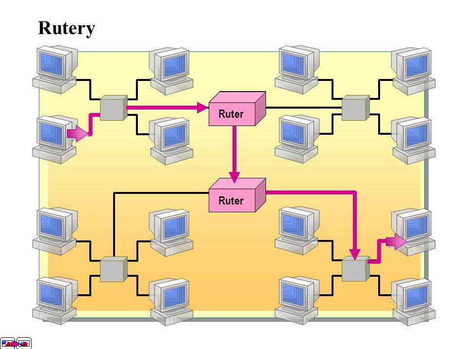 Za pomocą przełącznika można: -Wysyłać pakiety bezpośrednio z komputera źródłowego do komputera przeznaczenia. -Umożliwić większe prędkości transmisji