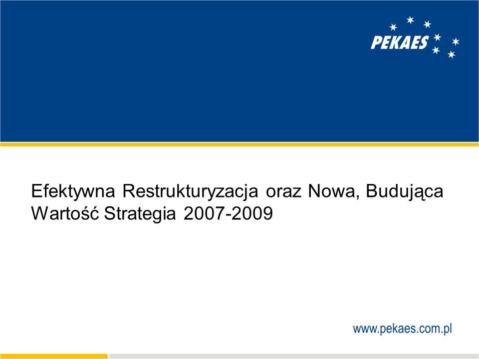 22 Założenia strategiczne Cele strategiczne wzrost wartości z wykorzystaniem potencjału rynkowego oraz kompetencji Zespołu Grupy unowocześnienie struktury portfela produktów konkurencyjna oferta usług logistycznych podwojenie w perspektywie 3 lat przychodów ze sprzedaży produktów drobnicowych wzrost rentowności międzynarodowych przewozów całopojazdowych aktywny udział w konsolidacji rynku logistycznego – nowe nabycia Cele finansowe zwiększenie przychodów o 34% w ciągu 3 lat w sposób organiczny wzrost wskaźnika zysku EBITDA do poziomu 9%