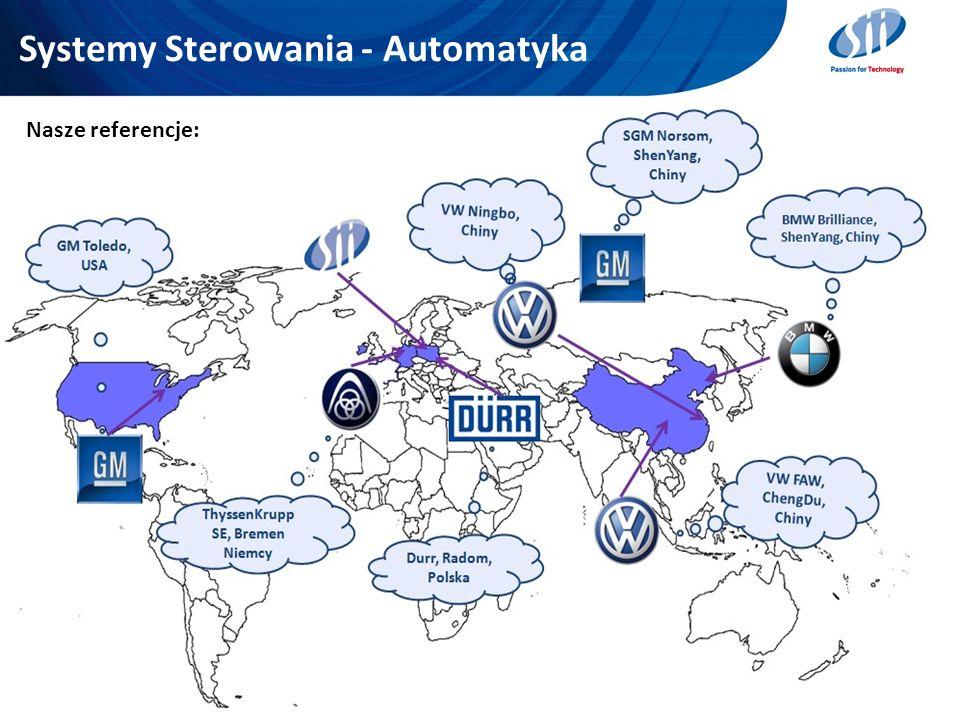 Systemy Sterowania - Automatyka 27 Nasze referencje: