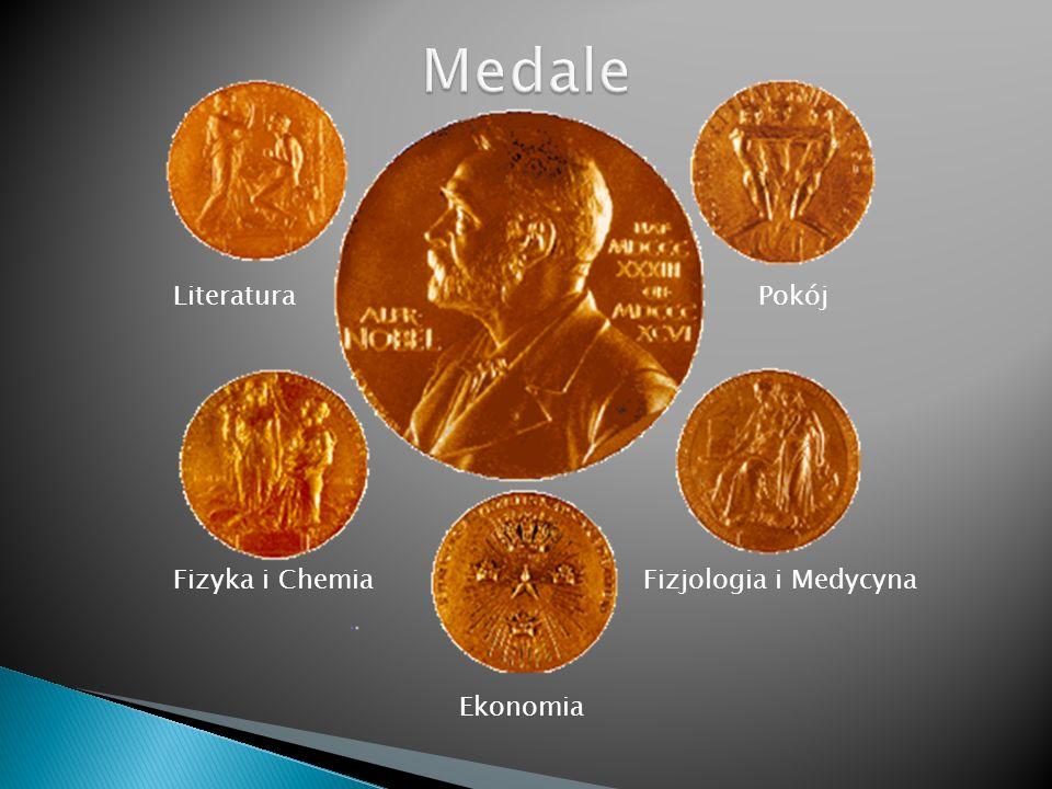 Literatura Pokój Fizyka i Chemia Fizjologia i Medycyna Ekonomia